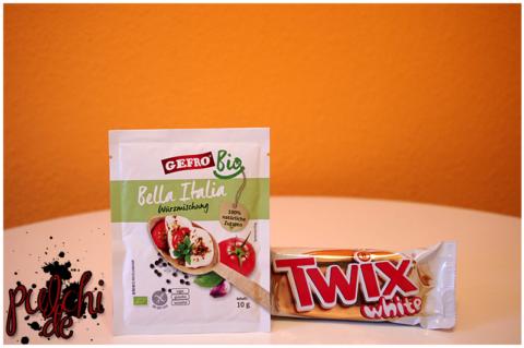 GEFRO BIO Würzmischung Bella Italia    Twix white 2x