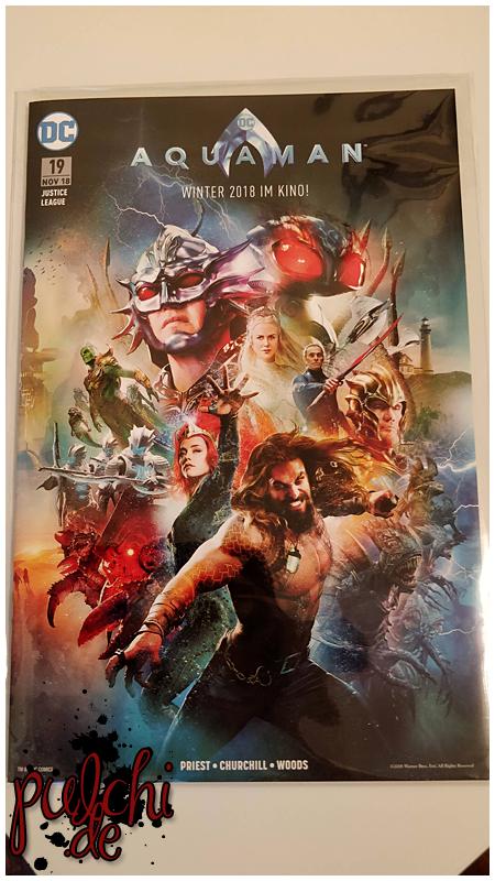 Justice League 19 - Aquaman-Movie-Variant (Comic Action Essen 2018)