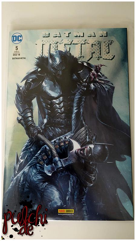 Batman Metal 5 Variant 1