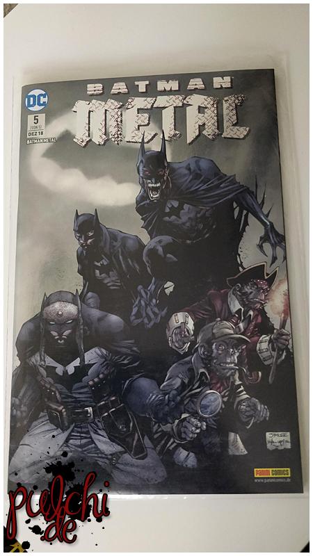 Batman Metal 5 Variant 2