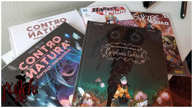 #0844 [Session-Life] Comic und Manga Loots von 10.2018 – 12.2018