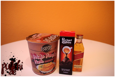 FOODSTER Potato Pumpkin Mash || Ferrero Pocket Coffee || Johnnie Walker Red Label