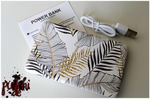 "Design Powerbank ""Farn"" 5000 mAh"