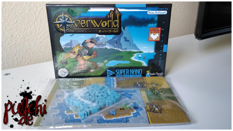Overworld - 16-Bit Tile-Placement & Exploration Boardgame