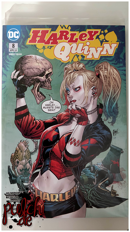 Harley Quinn 8: Die Furie von Apokalips