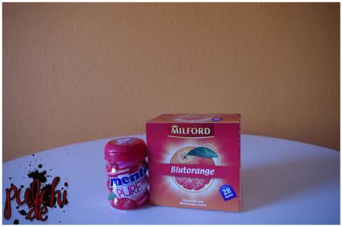 Mentos Pure Fresh Erdbeere || MILFORD Blutorange