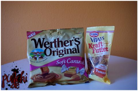 Werther's Original Soft Caramel || Dr. Oetker Kraftfutter Tomate