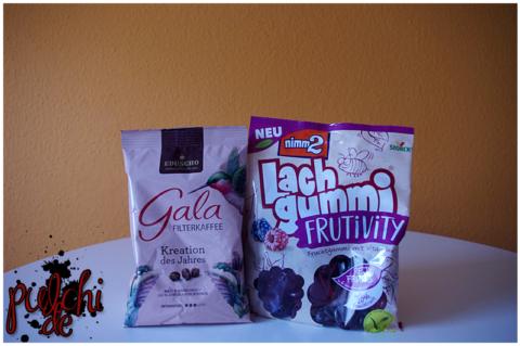 "Gala von Eduscho ""Kreation des Jahres"" || nimm2 Lachgummi Frutivity Red Fruits"