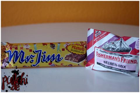 HOSTA Mr. Jim - Erdnuss trifft Schokolade || Fisherman's Friend BEEREN-MIX