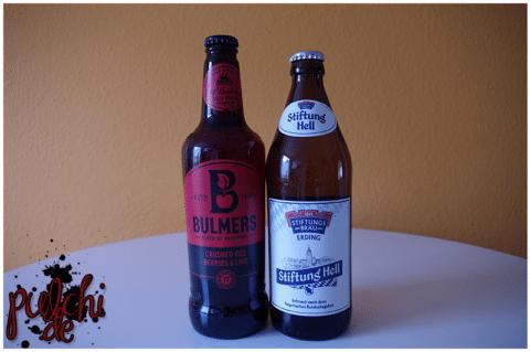 BULMERS RED BERRIES || Stiftungsbräu Erding STIFTUNG HELL