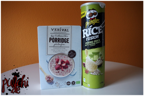 Veríval Erdbeer || PRINGLES Rice Fusion Peking