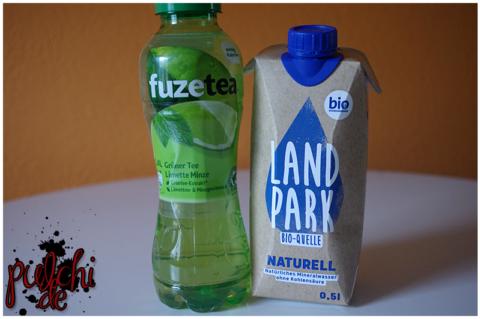 Fuze Tea Grüner Tee Limette Minze || Landpark Bio-Quelle Naturell