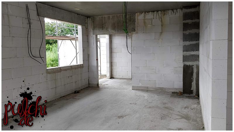 #0927 [Session-Life] Bautagebuch ~ Deckenstützen im Erdgeschoss entfernt