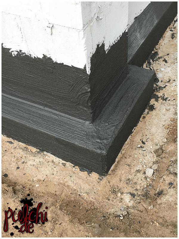 #0930 [Session-Life] Bautagebuch ~ Sockelabdichtung
