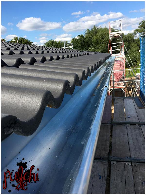 #0934 [Session-Life] Bautagebuch ~ Das Dach ist gedeckt