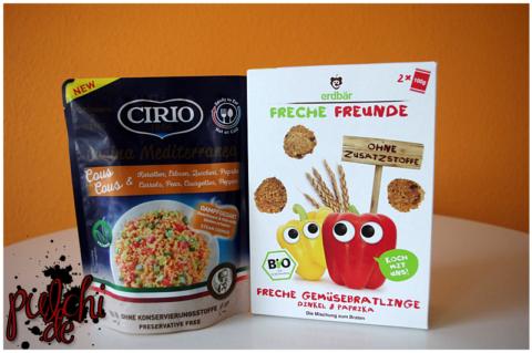CIRIO Cucina Mediterranea CousCous || Freche Freunde Freche Gemüsebratlinge Dinkel & Paprika