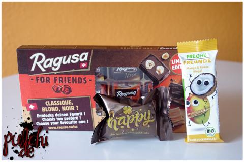 Ragusa For Friends || Happy der Premium Schokoglückskeks || Freche Freunde Frecher Riegel Mango Kokos