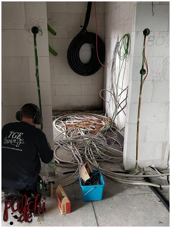 #0949 [Session-Life] Bautagebuch ~ Elektroarbeiten II beginnen