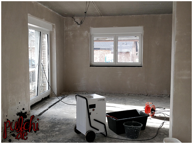 #0956 [Session-Life] Bautagebuch ~ Bautrocker ~ Die Hütte muss trocknen