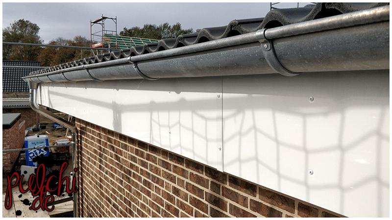 #0952 [Session-Life] Bautagebuch ~ Dachunterschläge