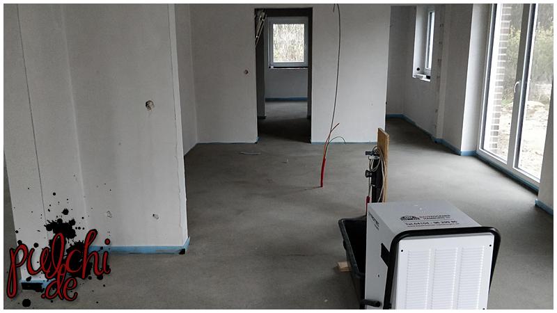 #0965 [Session-Life] Bautagebuch ~ Estrich ist drin ~ Es sieht wie ein Haus aus