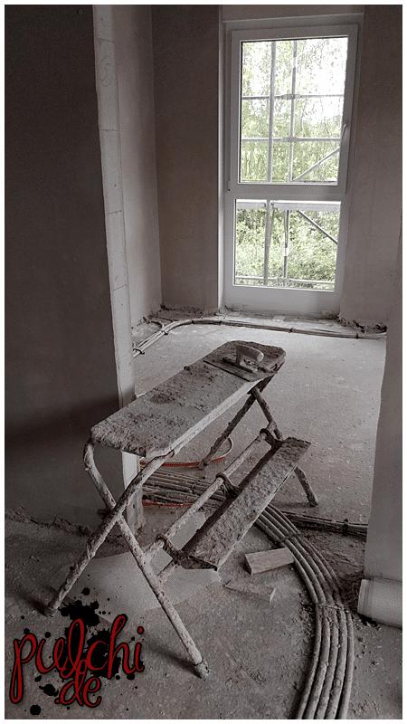 #0951 [Session-Life] Bautagebuch ~ Putzarbeiten ~ Der Putz ist an den Wänden