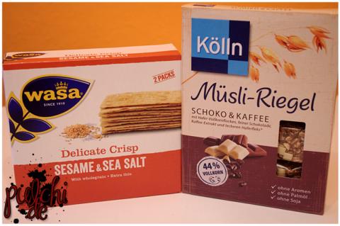 Wasa Delicate Crisp Sesame & Sea Salt || Kölln Müsli