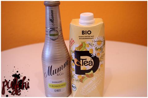 Mumm Dry Alkoholfrei || BIO D'Tea Kamille Rhabarber
