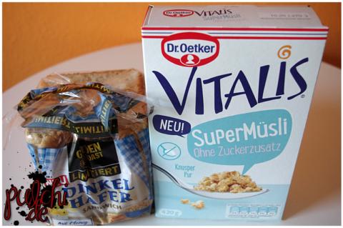 GOLDEN TOAST LIMITIERT Dinkel Hafer Sandwich || Dr. Oetker Vitalis SuperMüsli Ohne Zuckerzusatz