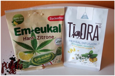 Em-eukal Hanf-Zitrone || Ti Ora Herbal Infusion Peppermint, Marigold & New Zealand Lemon