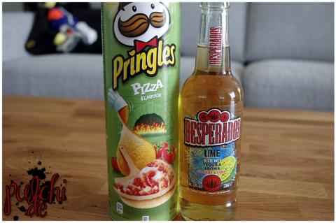 Pringles Pizza || Desperados Lime