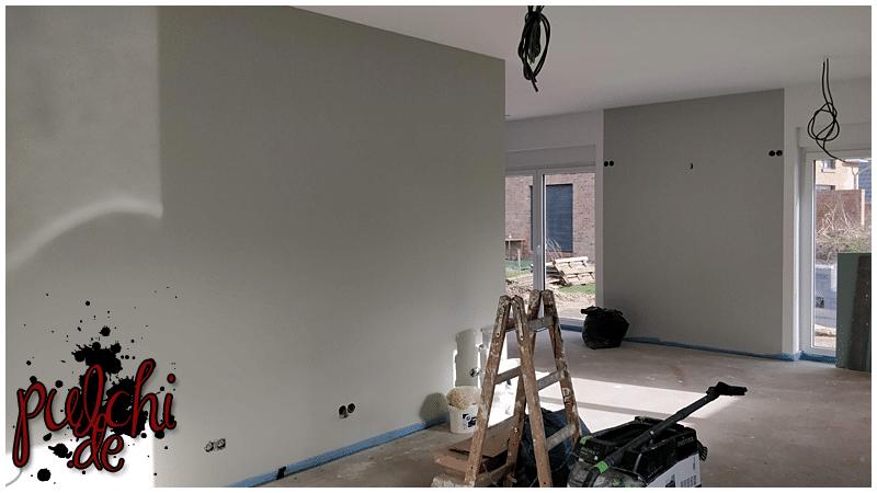 #1010 [Session-Life] Bautagebuch ~ Malerarbeiten ~ es wird bunt
