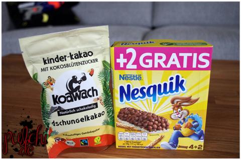 koawach Dschungelkakao || Nestlé Nesquik Cerealien