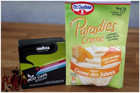 Lavazza Eco Caps Probierpaket || Dr. Oetker Paradies Creme Cheesecake