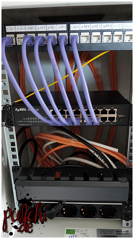 #1015 [Session-Life] Bautagebuch ~ Netzwerk Installation TV Dosen