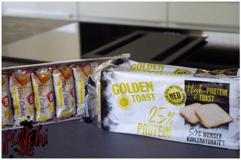 IBIS Mini Cakes Zitronengeschmack || GOLDEN TOAST High-Protein Toast