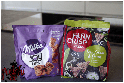 Joyfills Milka || Finn Crisp Snacks Sour Cream & Onion