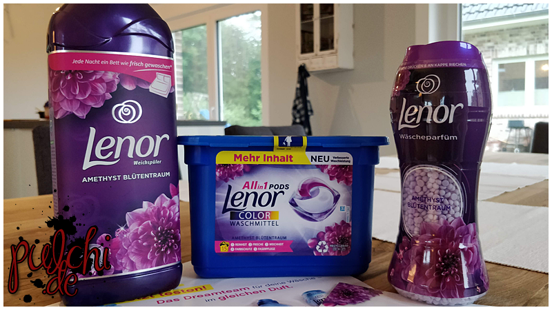 #1029 [Review] Lenor Amethyst Blütentraum