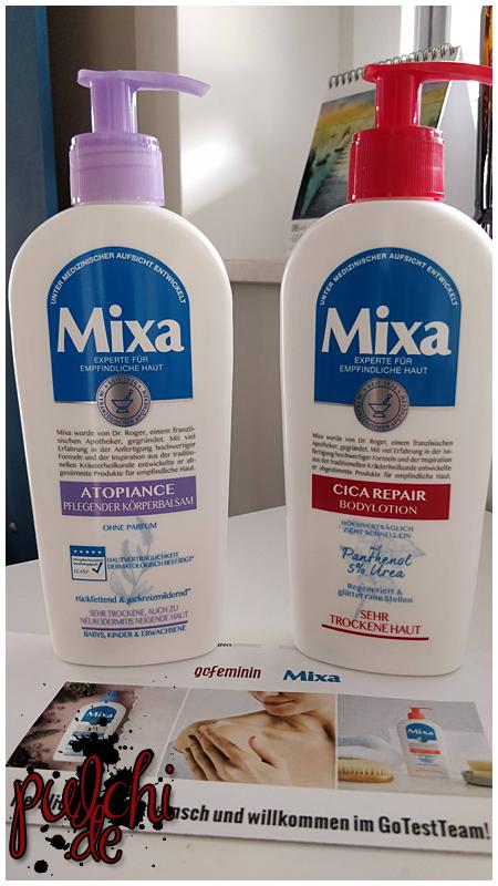 Mixa Cica Repair Bodylotion & Atopiance Körperbalsam
