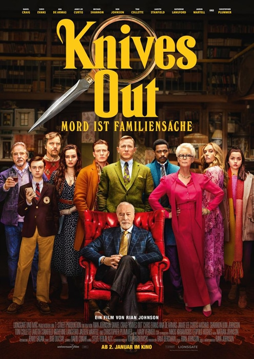 Knives Out ~ Mord ist Familiensache
