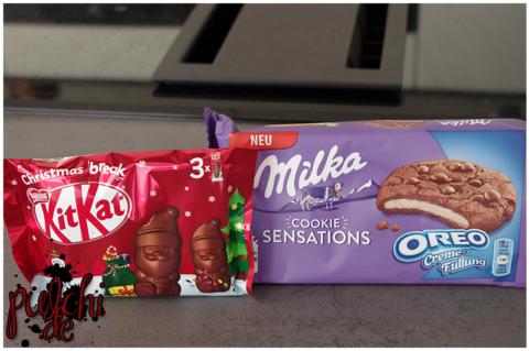 KitKat Mini-Weihnachtsmänner || Milka Cookie Sensations Oreo Creme
