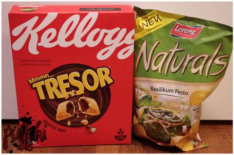 Kellogg's® Mmmh…Tresor® Choco Nut || Lorenz Naturals Basilikum Pesto