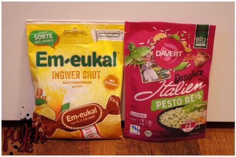 Em-eukal Ingwer Shot || Davert Discover Italien Pesto Reis