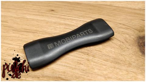 Mobiparts Smartphone & Tablet Elastischer Griff Schwarz
