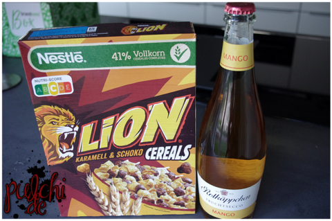 NESTLÉ LION CEREALS || Rotkäppchen Fruchtsecco Mango