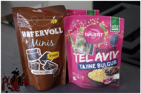 HAFERVOLL Minis Kakao || Davert Tel Aviv Tajine Bulgur