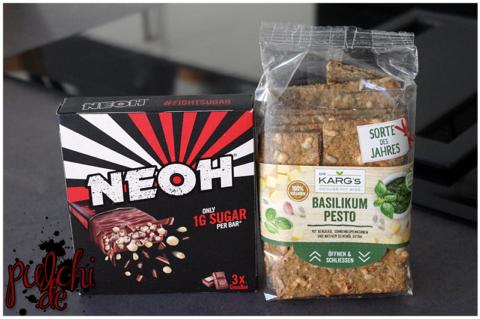NEOH CrossBar 3er Multipack || Dr. Karg's Knäckebrot Basilikum Pesto