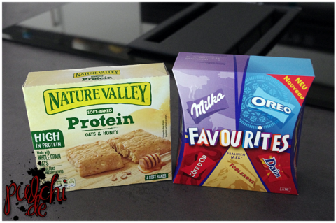 Nature Valley Soft-Baked Protein Oats & Honey || Milka Favourites