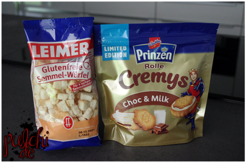 LEIMER Glutenfreie Semmel-Würfel || Prinzen Rolle Cremys Choc & Milk