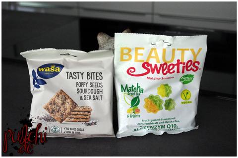 Wasa Tasty Bites Poppy Seeds Sourdough & Sea Salt || BeautySweeties Matcha-Sonnen